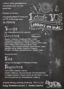 Eetcafe VOS november