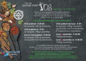 Bistro VOS BBQ pakket